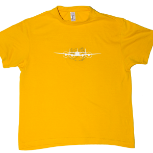 Tee Shirt Super constellation Jaune face