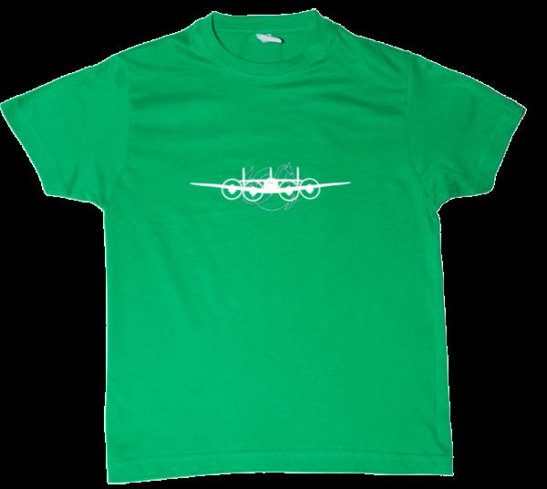 Tee Shirt Super constellation Vert face