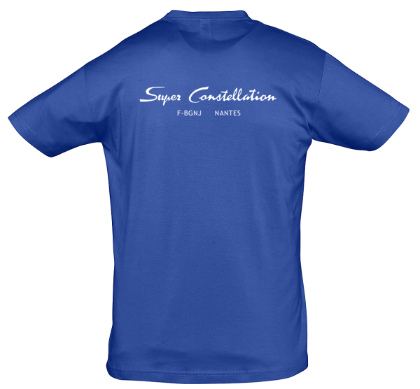 Tee Shirt Super constellation Bleu dos