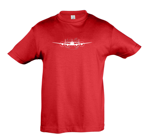Tee Shirt Super constellation rouge face
