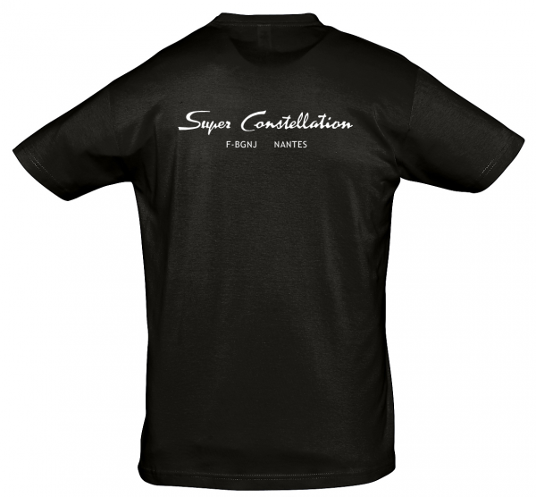 Tee Shirt Super constellation noir dos
