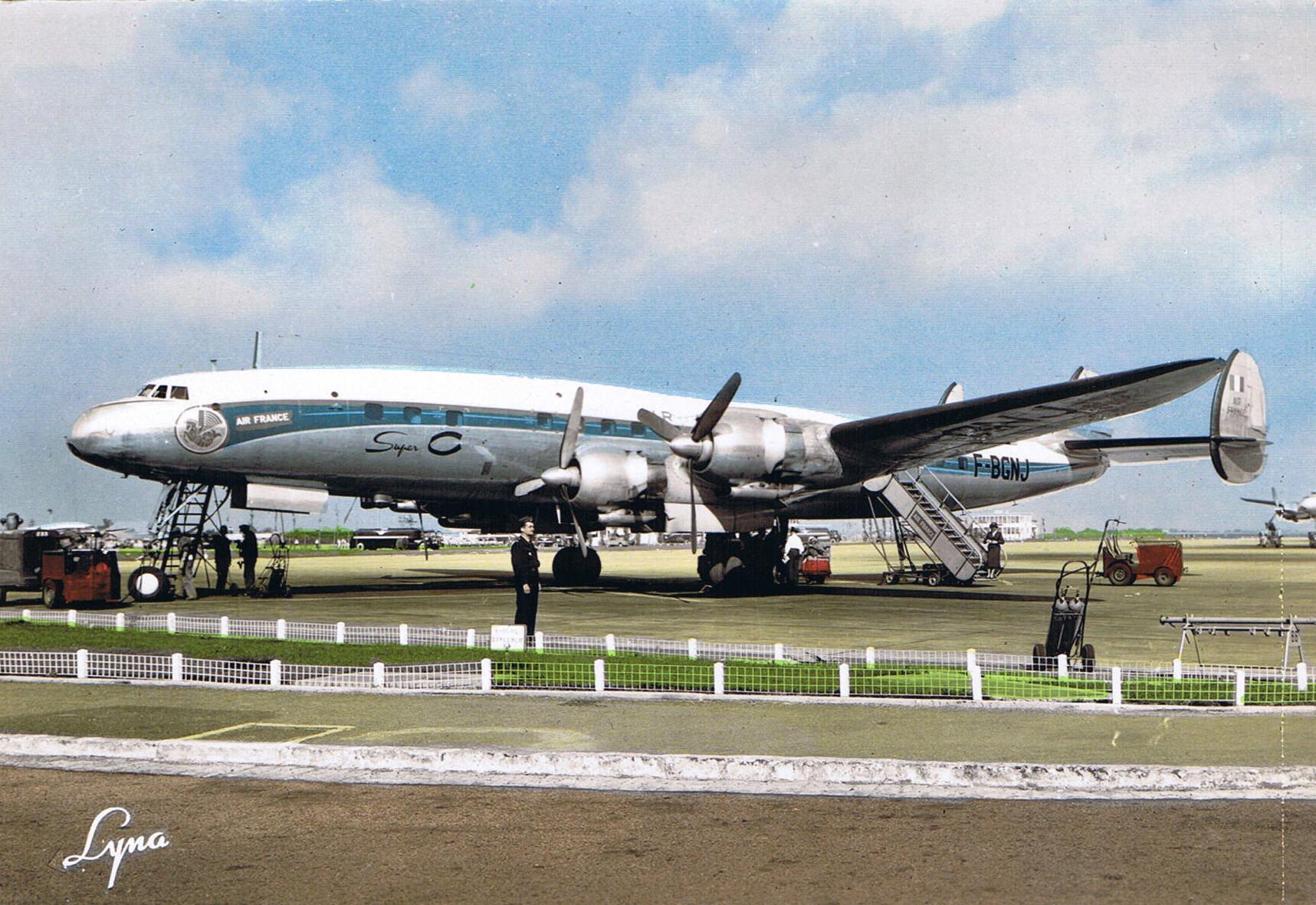 F-BGNJ en 1956 à Orly