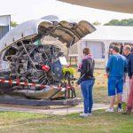 Journée Européenne du Patrimoine 2019. Moteur Wright Cyclone