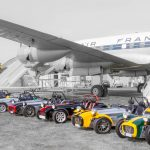 Rassemblement de voitures Caterham
