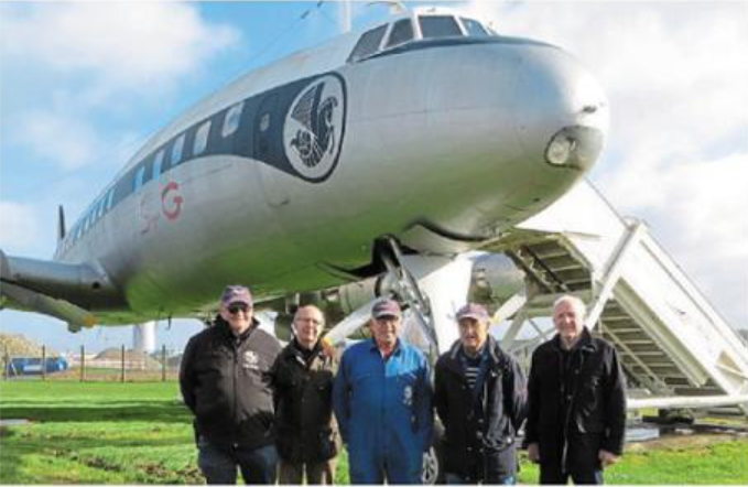 Photo ouest France Amicale Super Constellation